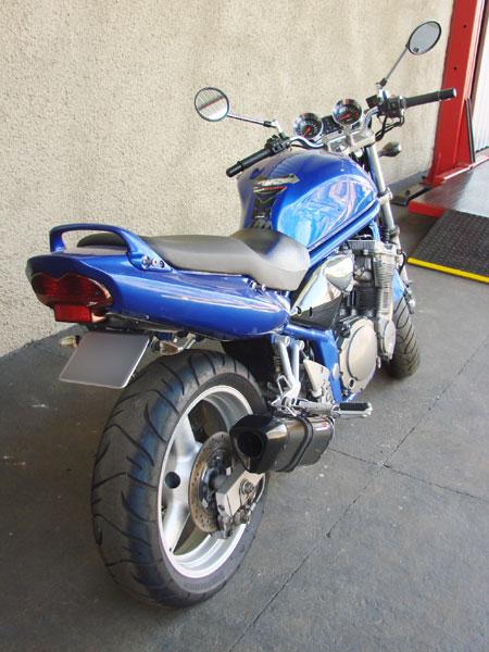 Escape / Ponteira Coyote TRS Tri-Oval 300mm Alumínio Bandit 650 N/S até 2008 - Preto - Suzuki