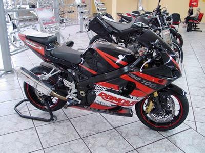 Escape / Ponteira Coyote TRS Tri-Oval Alumínio GSX-R Srad 1000 até 2005 - Polido - Suzuki