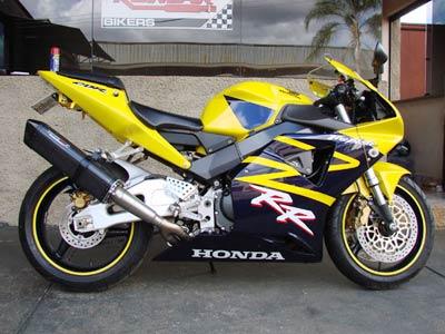 Escape / Ponteira Coyote TRS Tri-Oval Alumínio CBR 929 / 954 - Preto - Honda