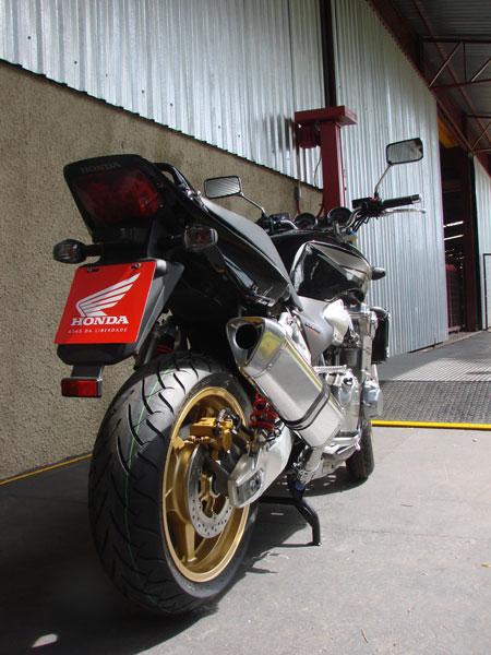 Escape / Ponteira Coyote TRS Tri-Oval Alumínio CB 1300 - Preto Black - Honda