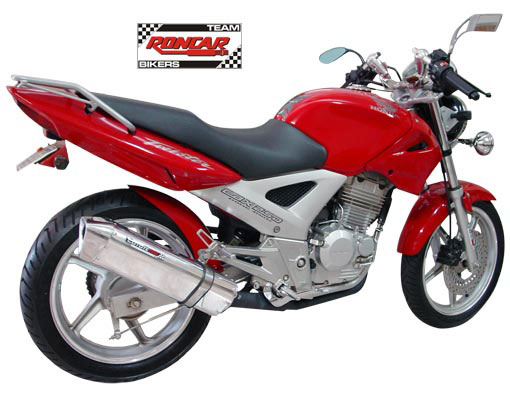 Escape / Ponteira Coyote TRS Tri-oval Fibra de Carbono Black - CBX 250 Twister