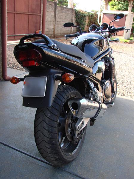 Escape / Ponteira Coyote TRS Tri-Oval Alumínio Bandit 1200 N/S 2007 em Diante - Polido - Suzuki