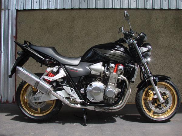 Escape / Ponteira Coyote TRS Tri-Oval Alumínio CB 1300 - Polido - Suzuki