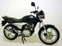 Escape / Ponteira Coyote TRS Tri-Oval Alumínio CG 150 Sport até 2008 - Preto Black - Honda