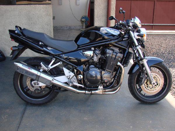 Escape / Ponteira Coyote TRS Tri-Oval Alumínio Bandit 1200 N/S 2007 em Diante - Preto - Suzuki
