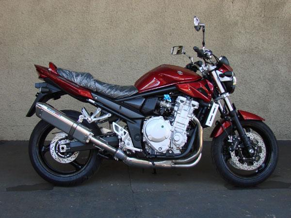 Escape / Ponteira Coyote TRS Tri-Oval Alumínio GSX 650 F / Bandit 650 & 1250 2009 em Diante - Preto - Suzuki