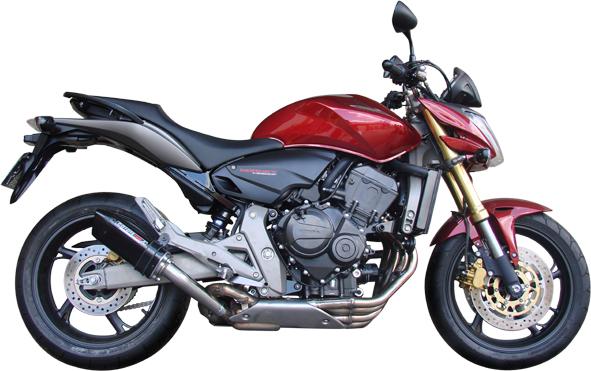 Escape / Ponteira Coyote TRS Tri-Oval 200mm Alumínio CB Hornet 600 2008 em Diante - Polido - Honda