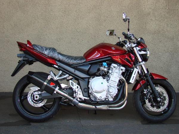 Escape / Ponteira Coyote FIVE Alumínio GSX 650 F / Bandit 650 & 1250 Injetada ano 2009 em Diante - Polido - Suzuki