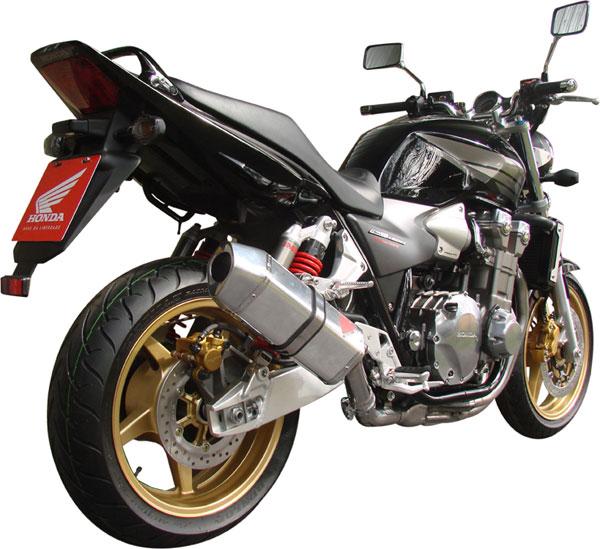 Escape / Ponteira Coyote FIVE Alumínio CB 1300 - Preto Black - Honda