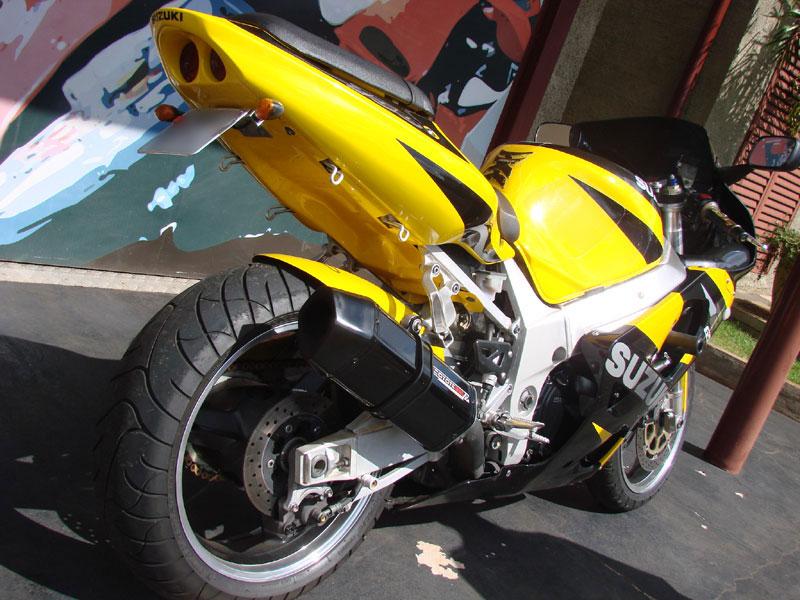 Escape / Ponteira Coyote FIVE Alumínio GSX-R Srad 1000 2001 até 2005 - Preto Black - Suzuki