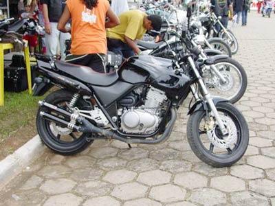 Escape / Ponteira Coyote Competition Alumínio Duplo - CB 500 1997 até 2005 - Polido - Honda