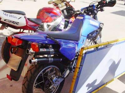 Escape / Ponteira Coyote Competition Alumínio Duplo XT 600 1994 em Diante - Polido - Yamaha