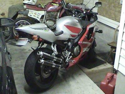 Escape / Ponteira Coyote Competition Alumínio Duplo CBR 600 F 2001/2002 - Preto - Honda