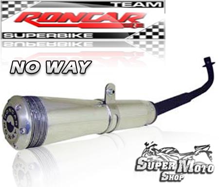 Escape / Ponteira No Way Aluminio Polido - C 100 Biz
