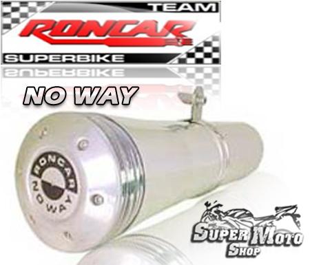 Escape / Ponteira No Way Aluminio Polido - NX 125