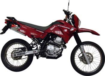 Escape / Ponteira Coyote TRS Off-Road Aluminio Polido com Boca Preta Lander XTZ 250 / X até 2008 ( Sem Sonda ) - Yamaha