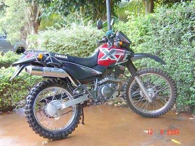 Escapamento Aluminium Esportivo Redondo TDM 225 / XT 225 - Cromado - Yamaha