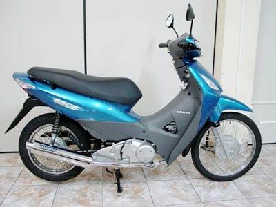 Escapamento Aluminium Esportivo Redondo Biz 125 até 2010 - Cromado - Honda