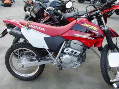 Escapamento Aluminium Esportivo Redondo XR Tornado 250 até 2006 - Preto - Honda