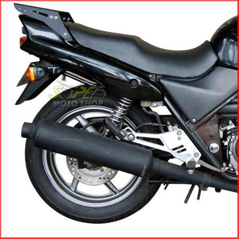 Escapamento Silencioso Modelo Original Preto CB 500 - Honda