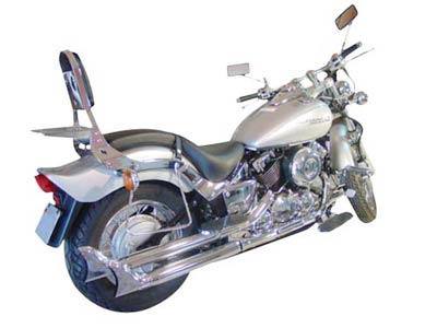 Escapamento Esportivo Modelo Rabo de Peixe Drag Star 650 2006 em Diante - Yamaha