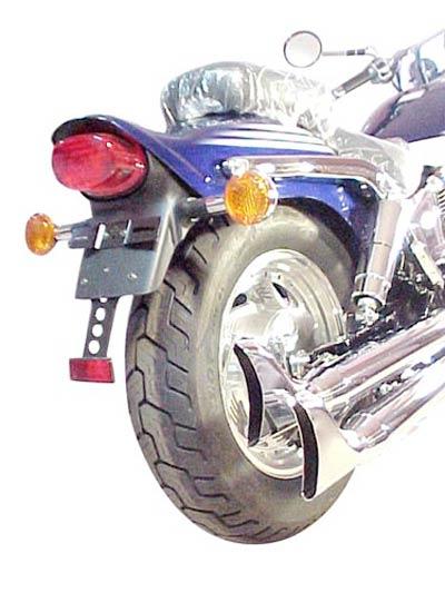 Escapamento Esportivo Modelo Rabo de Peixe Marauder 800 2001 em Diante - Suzuki