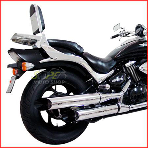 Escapamento Esportivo Scorpion Modelo V-Rod Cromado Boulevard M 800 até 2010 - Suzuki