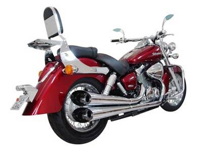 Escapamento Esportivo Scorpion Modelo V-Rod Cromado Shadow 750 até 2009 - Honda