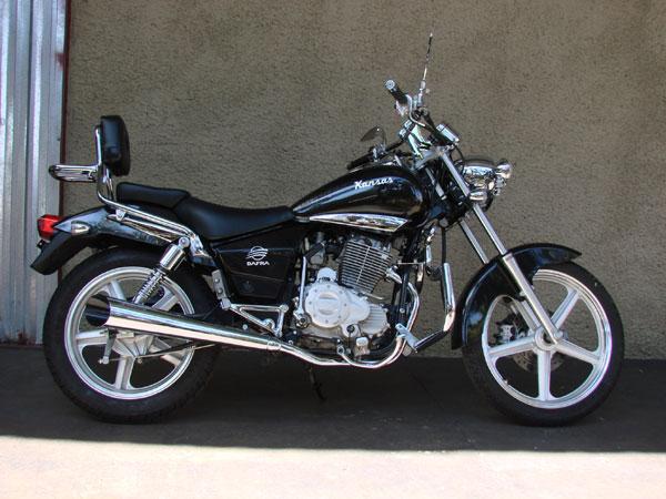 Escapamento Esportivo Scorpion Modelo Chanfrado Cromado Kansas 150 - Dafra