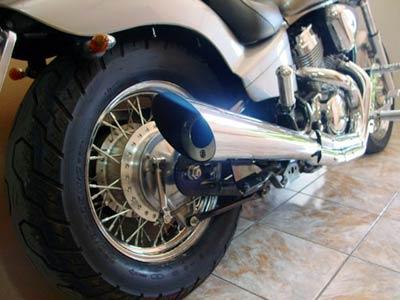 Escapamento Esportivo Scorpion Modelo V-Rod 2X1 Cromado Shadow 600 - Honda
