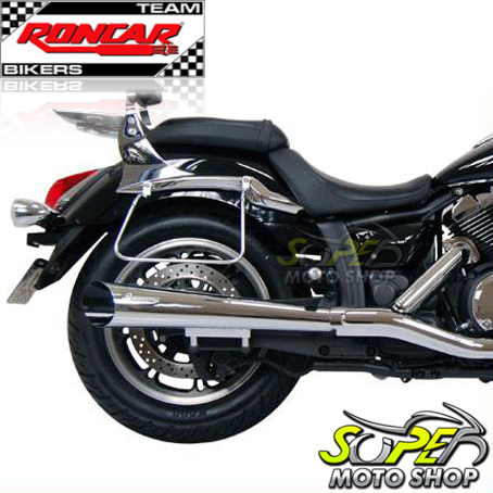 Escapamento Esportivo Scorpion Modelo V-Rod Cromado Midnight Star 950 - Yamaha