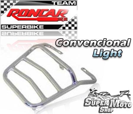 Bagageiro Convencional Light Cromado - YBR 125