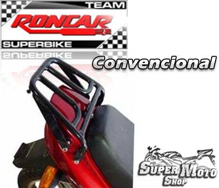 Bagageiro Convencional Cromado - Max 125
