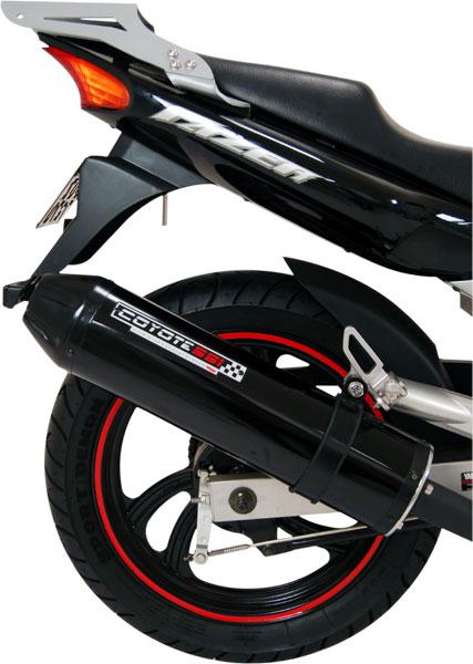 Bagageiro / Suporte Roncar em Chapa Reforçado Fazer 250 todos os Anos - Prata - Yamaha