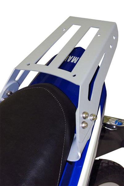 Bagageiro / Suporte Roncar em Chapa Reforçado Neo 115 2008 em Diante - Prata - Yamaha