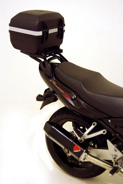 Bagageiro / Suporte Roncar em Chapa Reforçado Bandit 1250 / GSX 650 F - Preto - Suzuki