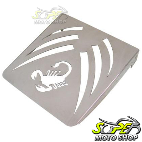 Bagageiro / Suporte Scorpion para Sissy Bar Roncar Midnight Star 950 - Yamaha