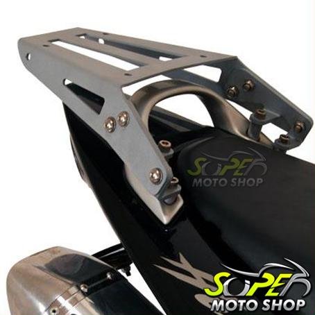 Bagageiro / Suporte Roncar em Chapa Reforçado Hornet CB 600 até 2007 - Prata - Honda