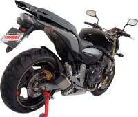 Bagageiro / Suporte Roncar em Chapa Reforçado Hornet CB 600 2008 até 2011 - Prata - Honda