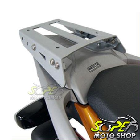 Bagageiro / Suporte Roncar em Chapa Reforçado XRE 300 - Prata - Honda