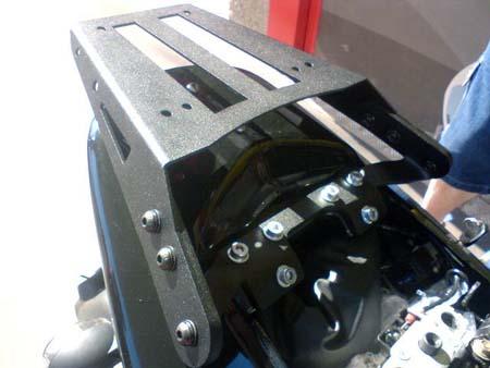 Bagageiro / Suporte Roncar em Chapa Reforçado Comet GT-R 250 - Preto - Kasinski