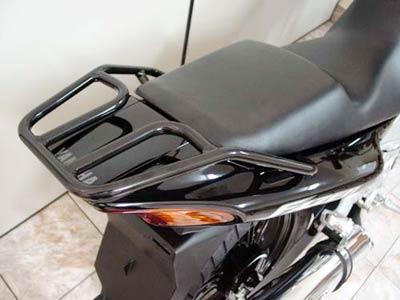 Bagageiro / Suporte Roncar Modelo Hércules Reforçado Fazer 250 Todos os Anos - Preto - Yamaha