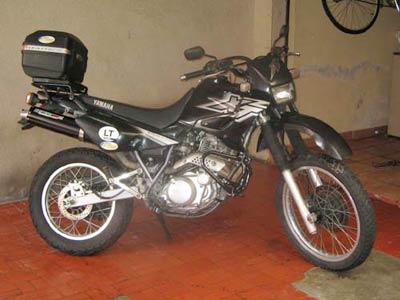 Bagageiro / Suporte Roncar Modelo Hércules Reforçado XT 600 1997 em Diante - Preto - Yamaha
