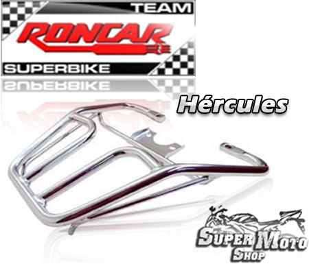 Bagageiro Hércules Reforçado Preto - CBX 250 Twister Até ano 2005