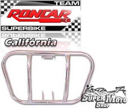 Protetor de motor modelo califórnia Cromado - Today