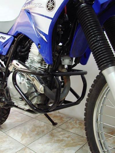 Protetor de Motor / Mata Cachorro Modelo Francês Lander XTZ 250 - Preto - Yamaha