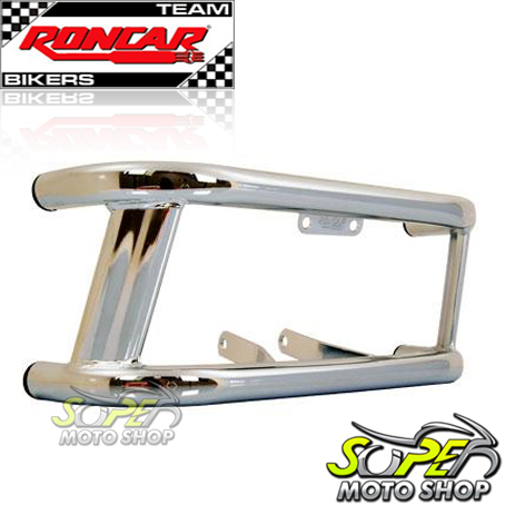 Protetor de Motor / Mata Cachorro Modelo Street CG 150 Titan / Fan KS/ESi/ESDi/EX 2009 até 2013 - Cromado - Honda