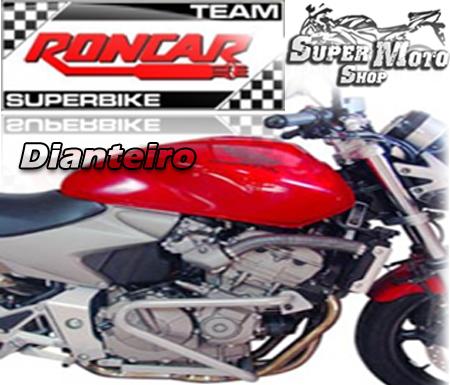 Protetor de Motor / Mata Cachorro Modelo Dianteiro Hornet CB 600 até 2007 - Cromado - Honda