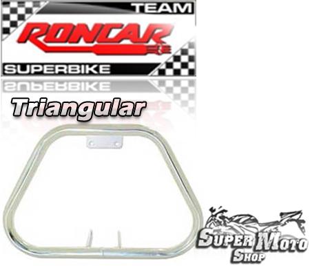 Protetor de Motor Triangular Cromado - RD 135