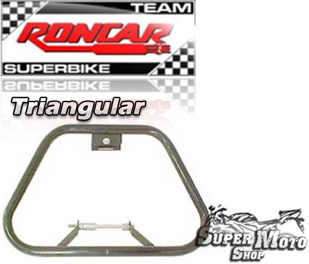 Protetor de Motor Triangular Preto - RD135